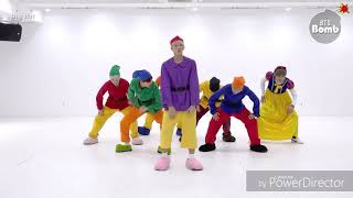 BTS Dance to SNSD Holiday FMV