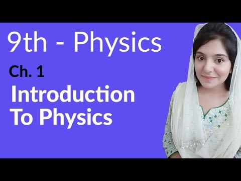 Matric part 1 Physics,Ch 1, Introduction & Branches of Physics -Urdu Lecture
