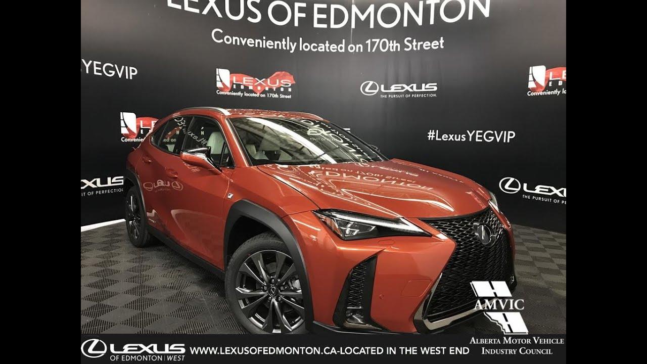 orange 2019 lexus ux 250h f sport series 2 review