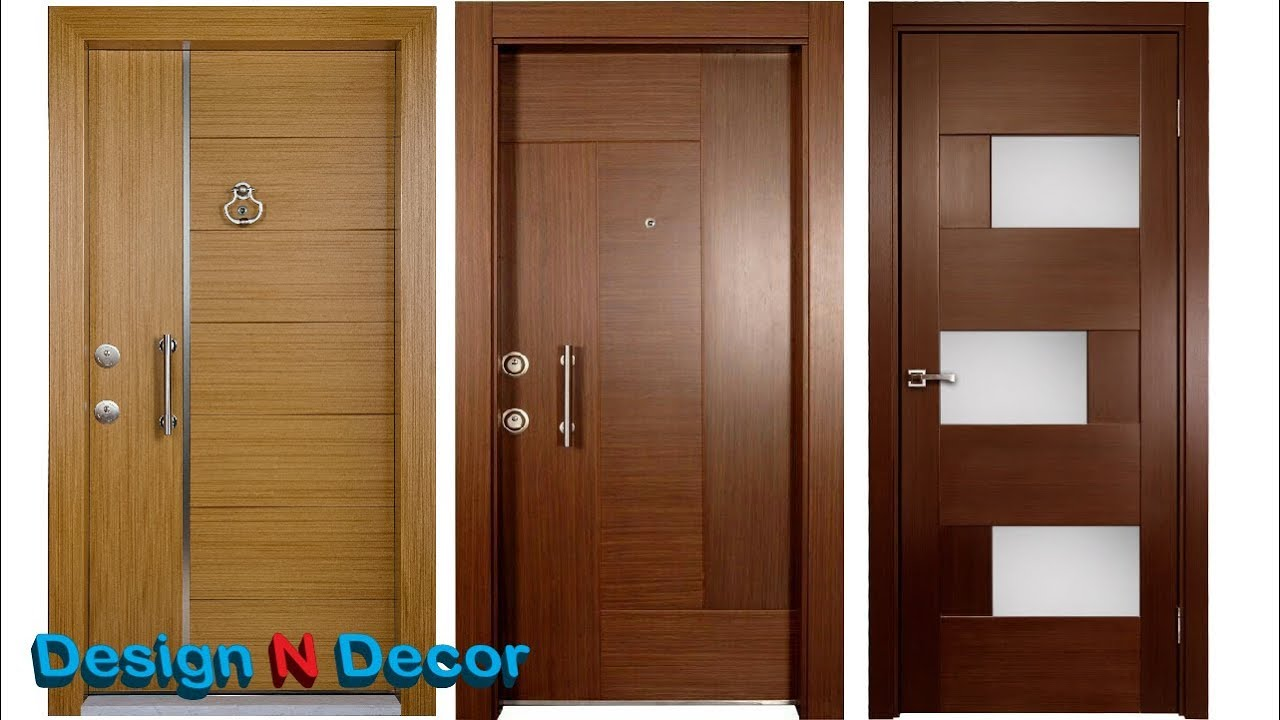 Charming Top 20 Modern Wooden Door Designs For Home 2018   Design N Decor