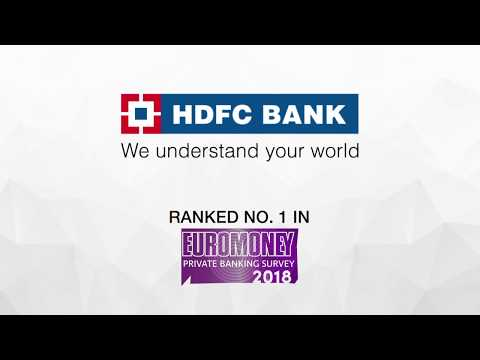 HDFC Bank being ranked No.1 in Euromoney Private Banking and Wealth Management Survey 2018