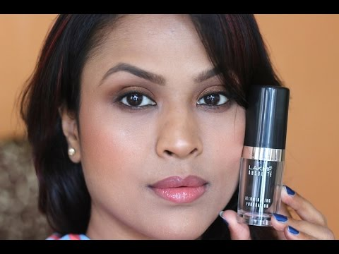 Lakme Absolute Illuminating Foundation Review Demo - Easy Makeup For Eid - 동영상