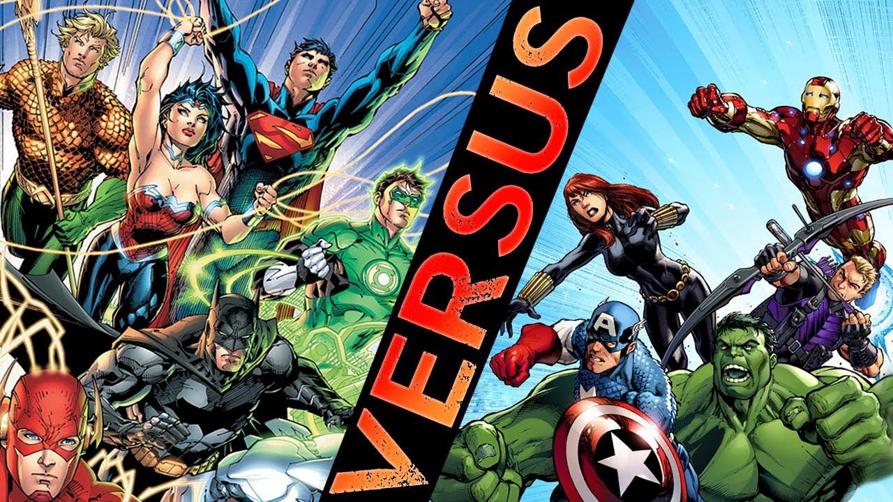 Avengers VS Justice League Epic Battle