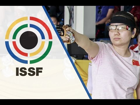 25m Pistol Women Final - 2016 ISSF Rifle and Pistol World Cup in Bangkok (THA)