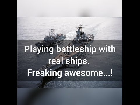 Playing Battleship with real ships. Gone costly 😭😭😭