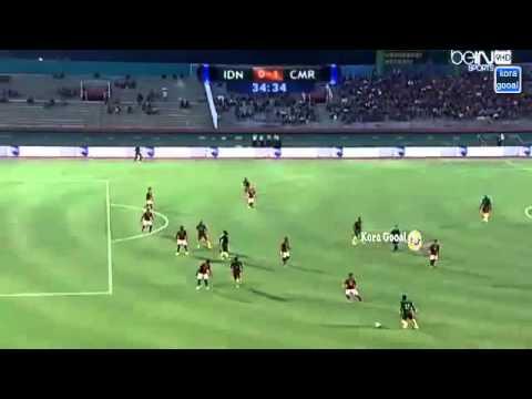 อินโดนีเซีย vs แคเมอรูน 0 1 Summary match full Highlights 25 03 2015 HD