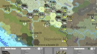Commander Europe at War - How to Conquer Yugoslavia in 1 Turn