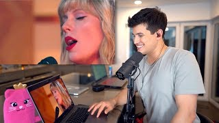 Gambar cover Vocal Coach Reacts to Taylor Swift - Lover (Acoustic Live)