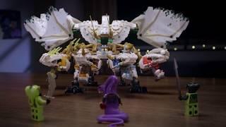開箱影片 - 樂高旋風忍者系列: 超級巨龍