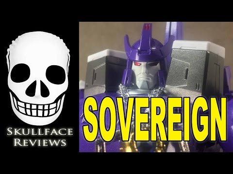 Fanstoys Sovereign Transformers 3rd Party Galvatron