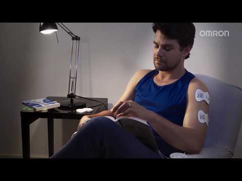 Vídeo do produto Massageador de Eletroterapia Portátil TENS Control HV-F013