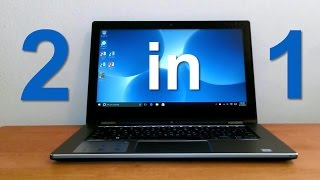 Dell Inspiron 13 7000 Series 2-in-1 review & unboxing 2016 - Laptop or tablet - Laptop for school?