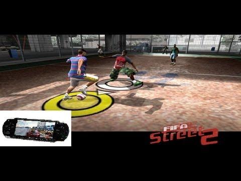 обзор Fifa Street 2 для Psp