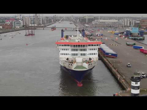 IWT   Dublin Port   4K