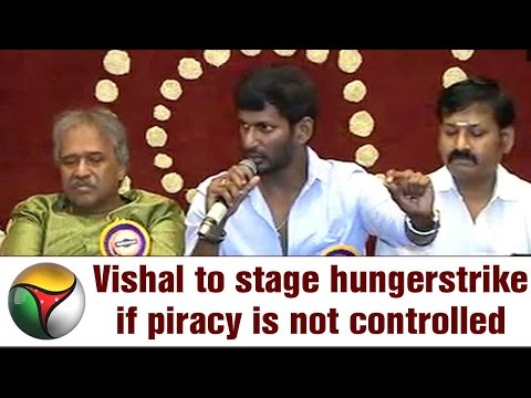 Actor Vishal To Stage Hungerstrike If Piracy Is Not Controlled