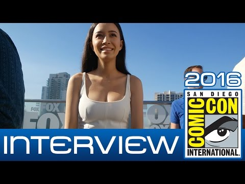 The Walking Dead: Christian Serratos (Rosita Espinosa) talks Season 7 | Comic-Con 2016