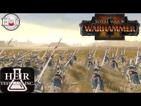 Warhammer 2 Anti Cav Who is Best