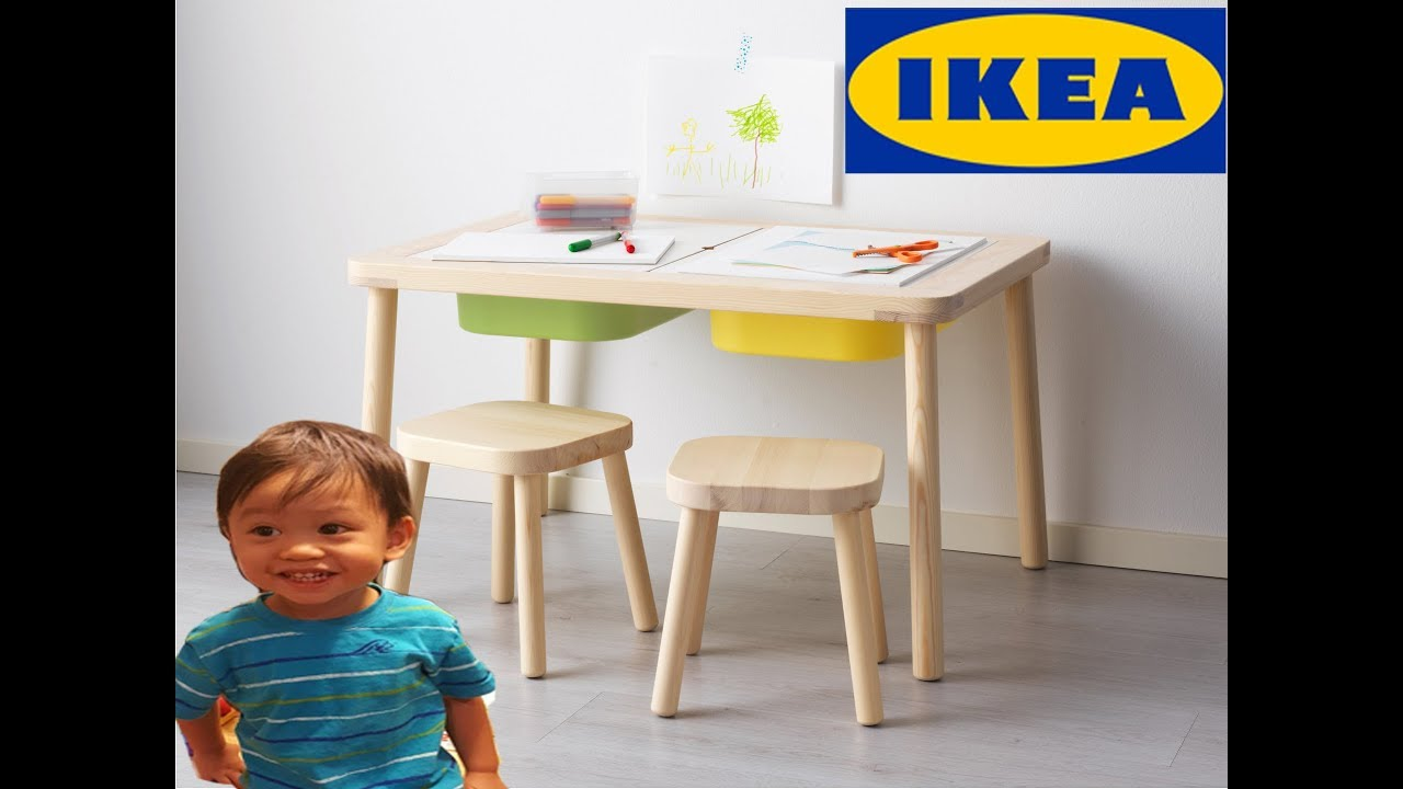 Ikea Flisat Children S Table Unbox And Review Youtube