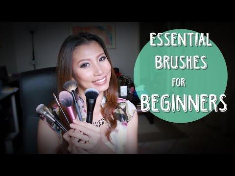 Essential Brushes for Beginners | แปรงแต่งหน้าสำหรับมือใหม่ที่ควรจะมี