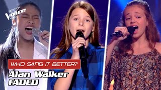 "Who sang Alan Walker's ""Faded"" better? 🎵 
