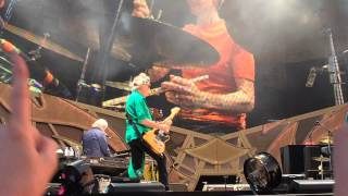 Rolling Stones - Jumpin' Jack Flash - Front row Live at Pinkpop 2014 - 14 On Fire Tour