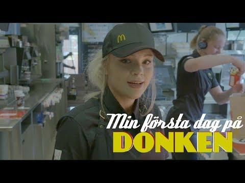 MIN FÖRSTA DAG PÅ McDONALD'S - Jag gör Donken