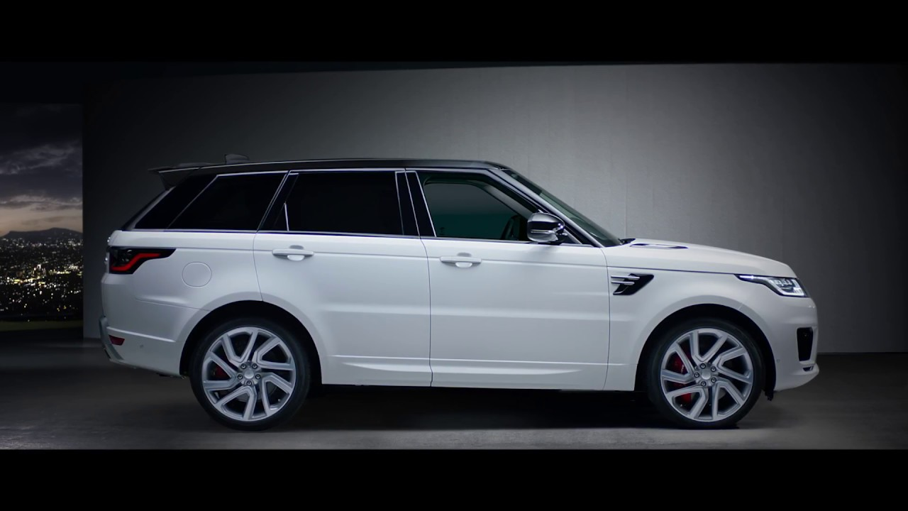 Range Rover Sport Phev On Charge
