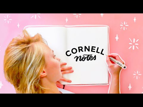 ✨How to Take Cornell Notes | College note-taking tips!