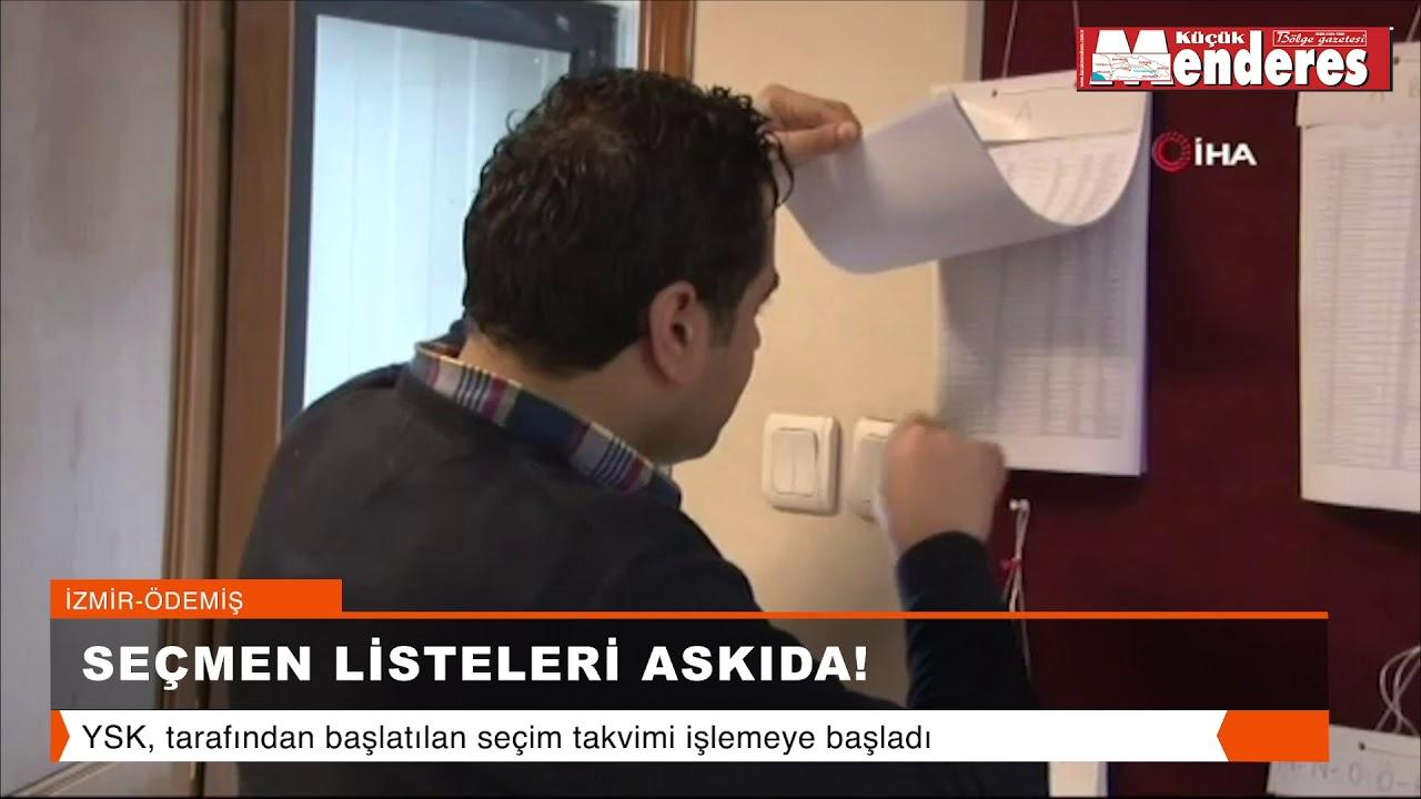 SEÇMEN LİSTELERİ ASKIDA