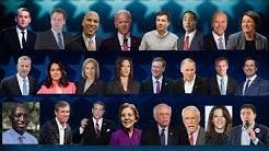 ERSTES TV-DUELL: Kampfansage der US-Demokraten an Donald Trump