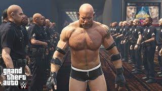 Goldberg Most Epic WWE 2K GTA Entrance & Randy Orton Returns | GTA 5 WWE Mods