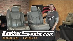 2003 - 2006 Chevy Silverado & GMC Sierra Replacement Leather Upholstery - LeatherSeats.com