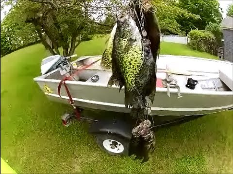 crappie fishing! ultra light fishing! a few crappie a few bass, Reel Combo