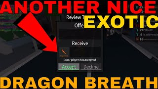 ANOTHER NICE EXOTIC DRAGON BREATH (ROBLOX ASSASSIN AMAZING DRAGON BREATH)