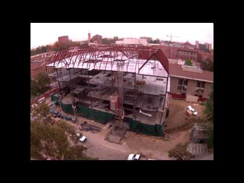 Time Lapse of Wallis Annenberg Hall