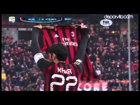 Gol #100 de Kaká en el Milan