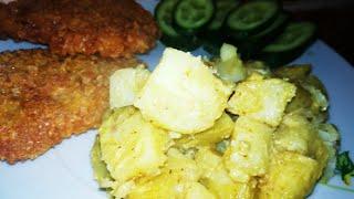 Вкусная картошка в духовке без мяса. Вторые блюда