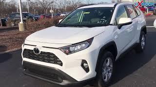 2019 Toyota RAV4 XLE walk around and video description at Oxmoor Toyota in Louisville KY