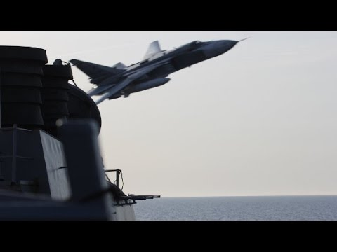 Russian fighter jet flies within 75 feet of U.S. ship