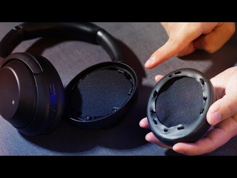 How to Replace Sony 1000XM3 Headphones Earpads Cushions