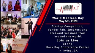 World Medtech Day is May 5th, 2020 #WorldMedtechDay