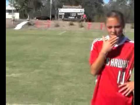Women's Soccer Post Game Video SUvs UAV