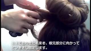 mina2011年4月号「ナチュラルおだんごヘア作り方2」【主婦の友社】 thumbnail