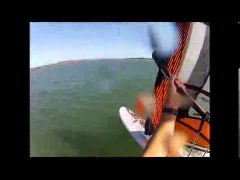 Windsurfing at Yamba NSW