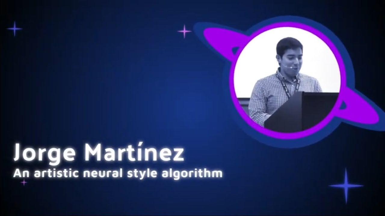 Image from Jorge Martinez - An artistic neural style algorithm - PyCon Colombia 2019