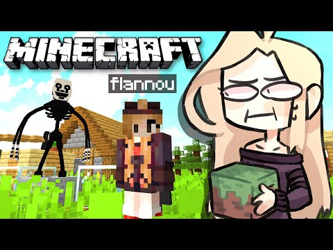 ANIMATRONICS vs FLANNOU: Je refais ma MAISON !! EP 6 (Minecraft Survie FNAF FR)