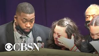 Daunte Wright's parents remember their son at his funeral