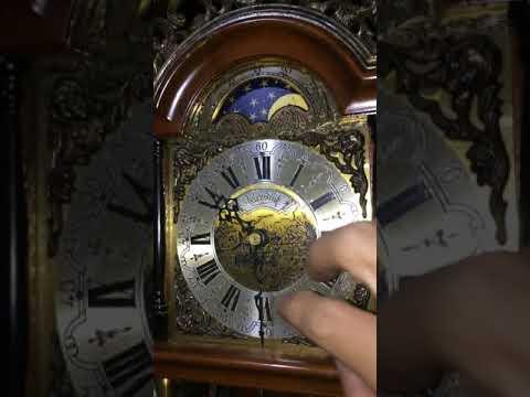 Moon Phase Warmink Wuba Clock