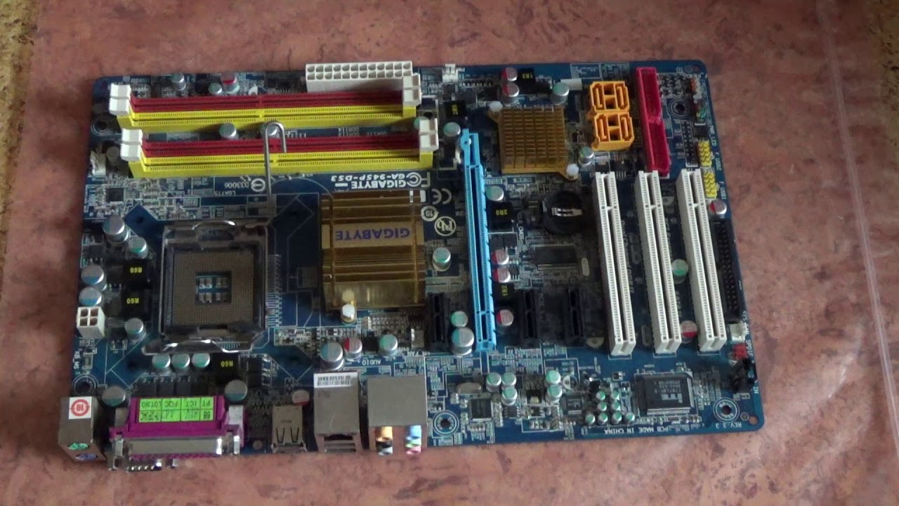 GIGABYTE GA-945P-DS3 rev. 3.3 Windows 8 X64 Treiber