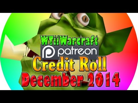 Warcraft 3 - Patron Credit Roll | December 2014